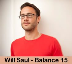 Will Saul face picture for Balance 15