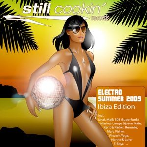Electro Summer 2009 club album cover picture