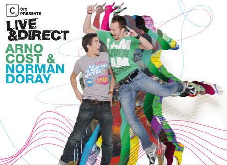 Arno Cost si Norman Doray - Live & Direct album cover