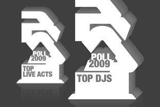 Top 100 Dj Rezident Advisor 2009 - logo