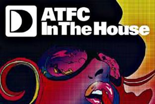 ATFC In The House logo - face witg Defected logo on the back