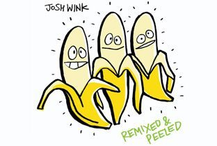 Remixed & Peeled by Josh Wink - cover CD with 3 bananas
