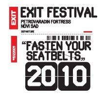 Exit festival 2010 - flyer