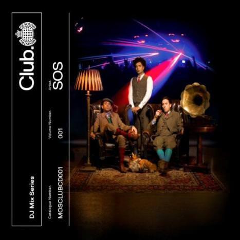 Ministry Of Sound - SOS - cover album, cd