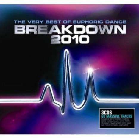 Very Best Of Euphoric Dance Breakdown 2010 - album cover