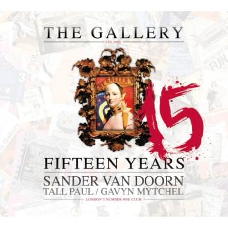 The Gallery - 15 Years - cover album