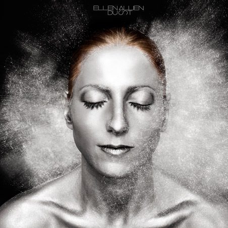 Dust by Ellen Allien - cover album with woman face