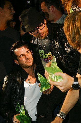 Sven Vath & Luciano at Ibiza Dj Awards 2009