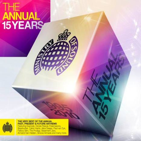 MOS The Annual 15 Years - cover album