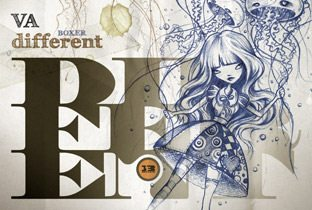 Different - cover album
