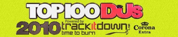 top 100 DJ Mag 2010 - logo