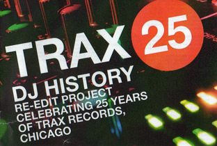 Trax 25 - DJ History Re-Edit Project, cover album