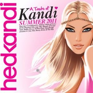 A Taste of Kandi Summer 2011 - clubbing CD cover album