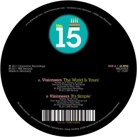 Visioneers - The World Is Yours b/w It's Simple