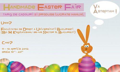 Afis Handmade Easter Fair - head articol