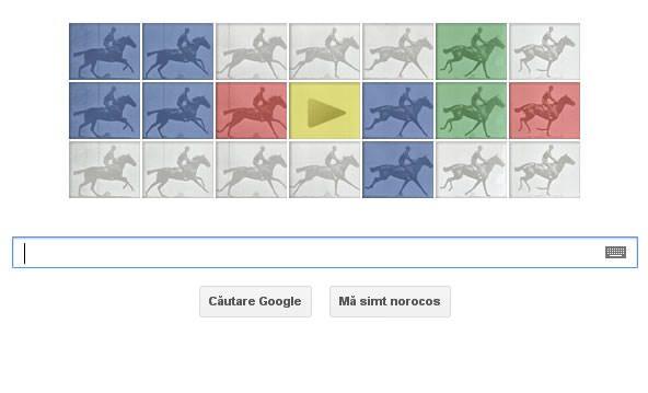 Eadweard J. Muybridge - Google logo