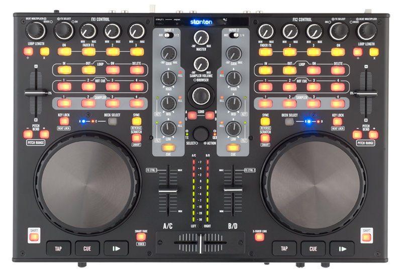 Stanton DJC.4 - midi controller for DJing