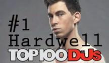 hardwell top 100 DJMAG 2014