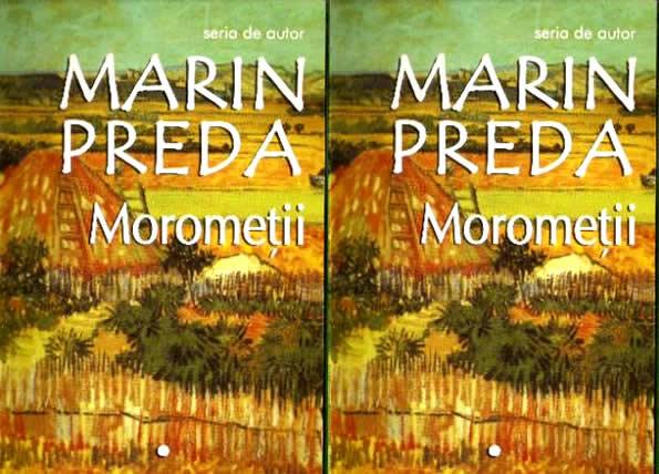 Coperta cartii Morometii de Marin Preda - volumul 1
